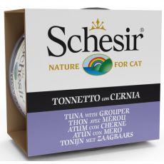Schesir cat tuniak a kanic v želé 85 g