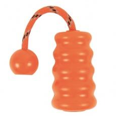 Gumená hračka pre psa - Fun Mot - oranžová - 9cm