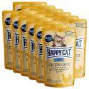 Kapsička Happy Cat ALL MEAT Adult Chicken & Duck 12 x 85 g