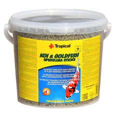 TROPICAL Koi & Goldfish Spirulina Sticks - 21L / 1,6 kg