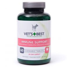 Vet´s Best žuvacie tablety na podporu imunity pre psy 60 ks