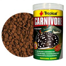 TROPICAL Carnivore ponárajúce sa tablety 1000 ml / 600 g
