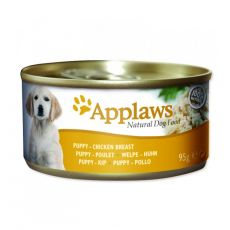 Konzerva Applaws Dog Puppy kuracia 95 g