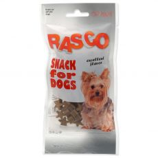 Pochúťka Rasco mini hydinové hviezdičky 50 g