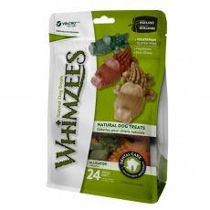 Whimzees dentálny aligátor S 15 g/24 ks