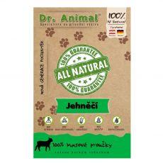 Dr.Animal 100 % jahňacie mäsové prúžky 80 g