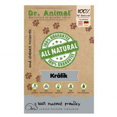 Dr.Animal 100 % králičie mäsové prúžky 80 g