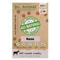 Dr.Animal 100 % kozie mäsové prúžky 80 g