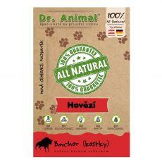 Dr.Animal 100 % hovädzí bachor sušené mäso kocky 80 g