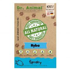 Dr.Animal 100 % ryba sušené šproty 50 g