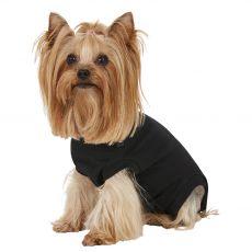 Pooperačné oblečenie pre psa XXXS čierne
