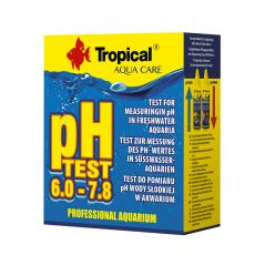 TROPICAL pH Test 6,0 - 7,8