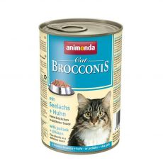 Animonda Cat BROCCONIS treska a kura 400 g