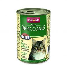 Animonda Cat BROCCONIS zverina a hydina 400 g