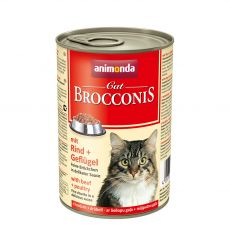 Animonda Cat BROCCONIS hovädzie a hydina 400 g