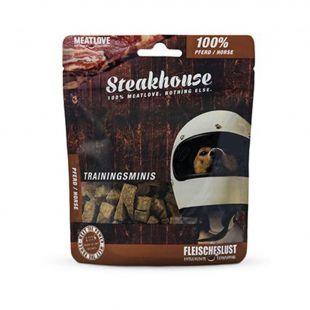 Meat Love Steakhouse Mini pamlsky 100 % kôň 100 g