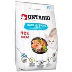 Ontario Cat Hair & Skin Salmon 400 g