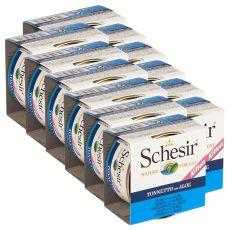 Schesir kitten tuniak s aloe vera v želé 12 x 85 g