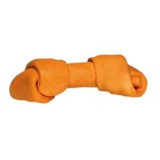 Kosť žuvacia viazaná - oranžová 60g