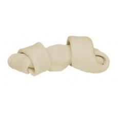 Kosť pre psa viazaná - biela 110g, 16cm