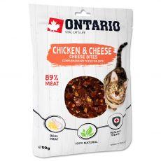Ontario Cat chicken & cheese bites 50 g
