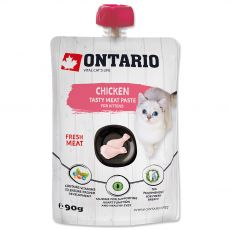 Ontario Kitten chicken fresh meat paste 90 g