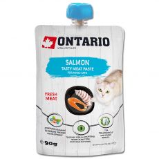 Ontario Cat salmon tasty meat paste 90 g