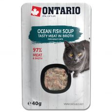 Ontario Cat ocean fish soup 40 g