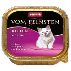 Animonda Vom Feinsten Kitten - jahňa 100 g