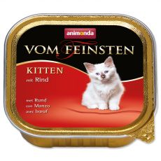 Animonda Vom Feinsten Kitten - hovädzie 100 g