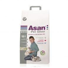 Asan Pet Silver podstielka pre hlodavce a králiky 12 L