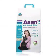 Asan Cat Fresh Blue podstielka pre mačky 10 L