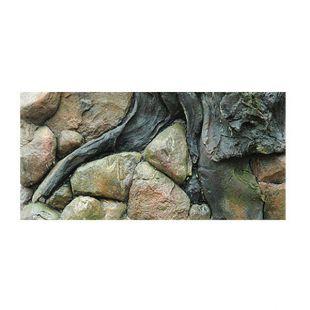 3D Pozadie do akvária 60x30cm - AMAZON