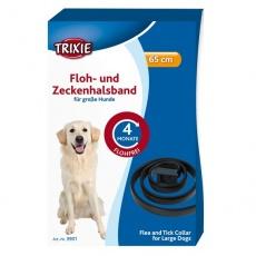 Antiparazitný obojok pre psa - 65 cm - čierny