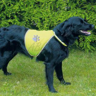 Reflexná vesta pre psy - S