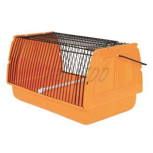 Prenosný box pre vtáky - kovové pletivo - 30 x 18 x 20 cm