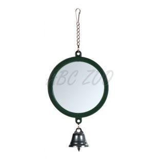 Zrkadlo so zvončekom pre vtáčiky, 7 cm