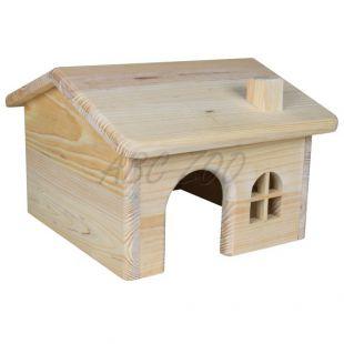 Domček pre hlodavce, šikmá strecha - malý