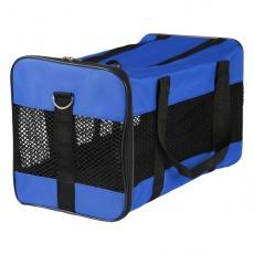 Prepravka na psa a mačku - modrá, 46 x 28 x 26 cm