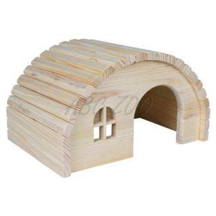 Domček pre hlodavce s oblou strechou - malý