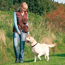 Vesta Dog activity, výcviková - hnedá,L