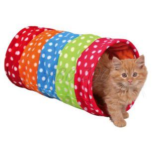 Tunel pre mačky a šteniatka, flisový