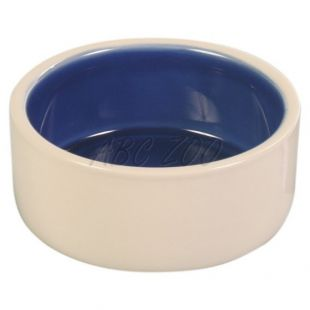 Miska pre psov, keramická, krémová - 2,1l