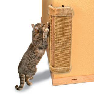 Škrabadlo pre mačky, rohové - 32 x 60 cm