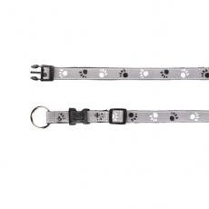 Obojok pre psa, reflexný - M - L, 35 - 55 cm