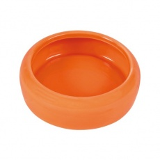 Keramická miska pre morčatá so zahnutým okrajom - 200 ml