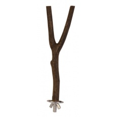Bidlo pre vtáčika Natural living - drevené, 20 cm