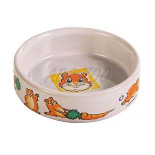 Miska pre škrečka keramická s obrázkami - 100 ml