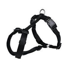 Postroj pre psy, čierny - XS - S, 30 - 40 cm