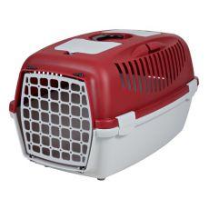 Prepravka pre psa do 12 kg - červená